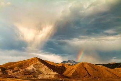 Rainbow segments