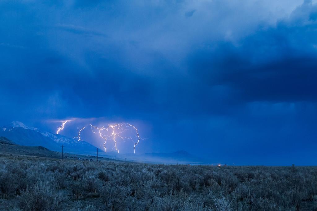 Skull Valley Spring Storm