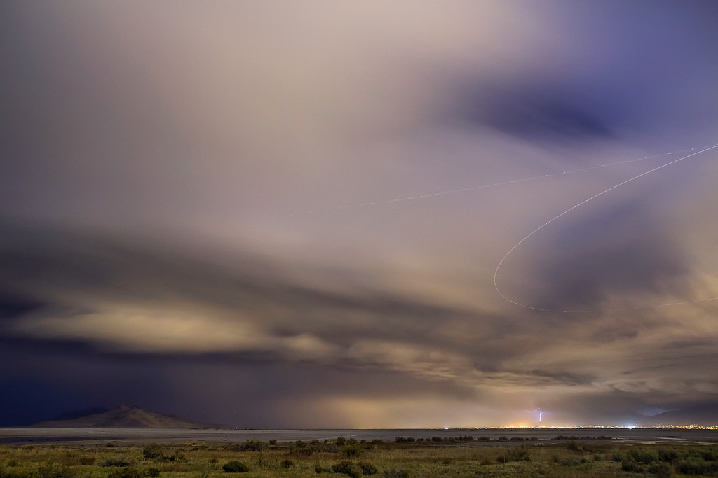 296 of my 365 project; thinking this is my last lightning shot of 2012