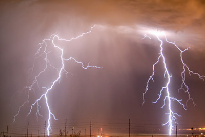 Great Salt Lake Lightning