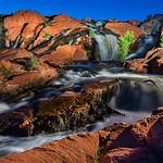 The Lightpainted Falls