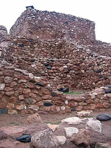 Tuzigoot <br /> Indian Pueblos near Sedona, Arizona