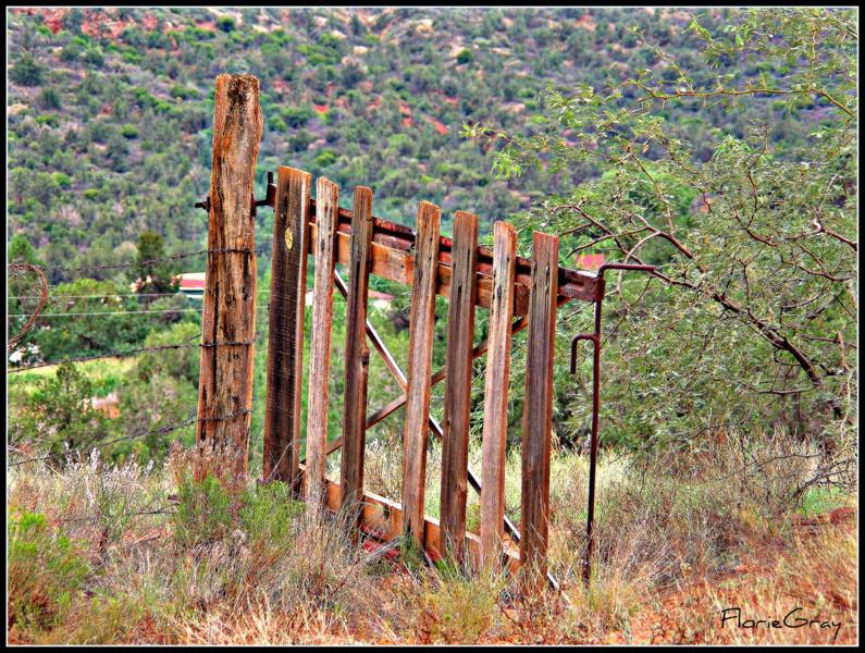 Beautiful Gate; Sedona, Arizona