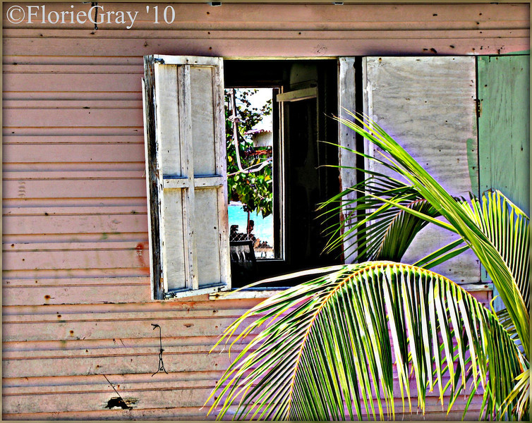 On the beach; Negril, Jamaica