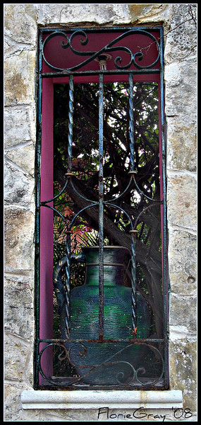 Lovely Window <br /> Isla Mujeres, Mexico