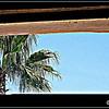 Shower Window; San Jose del Cabo, Baja California Sur, Mexico
