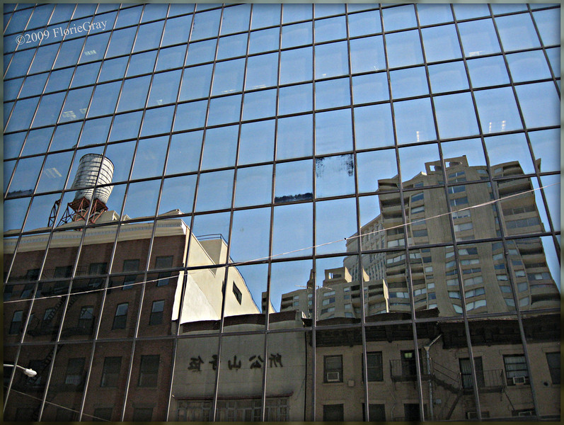 Manhattan Matrix <br /> ©2009 FlorieGray
