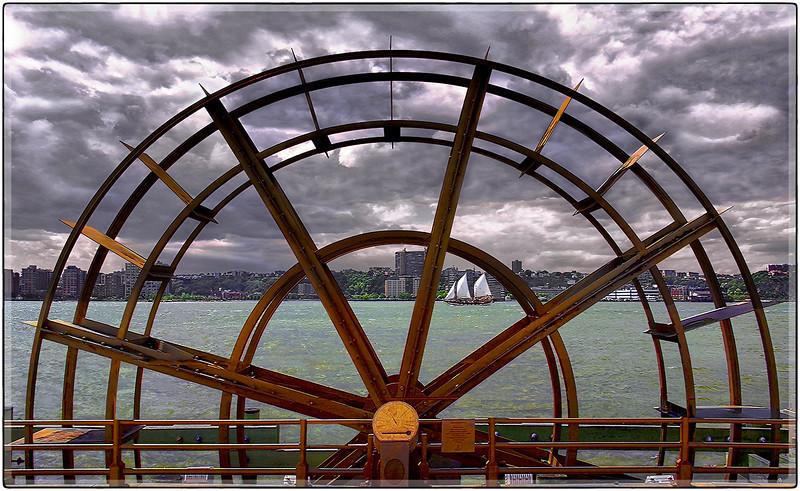 Wheel on the Hudson