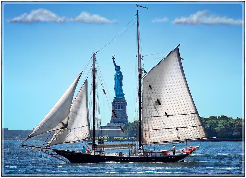 Sailing Liberty