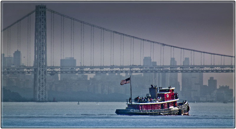 Tug Boat on the Hudson