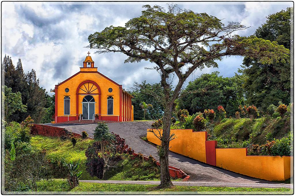 Iglesia Cerca de Aibonito