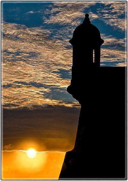 Puesta del Sol, El Morro