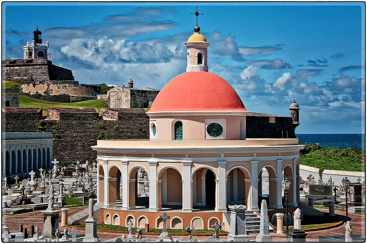 Capilla en el Viejo Cementerio, San Juan