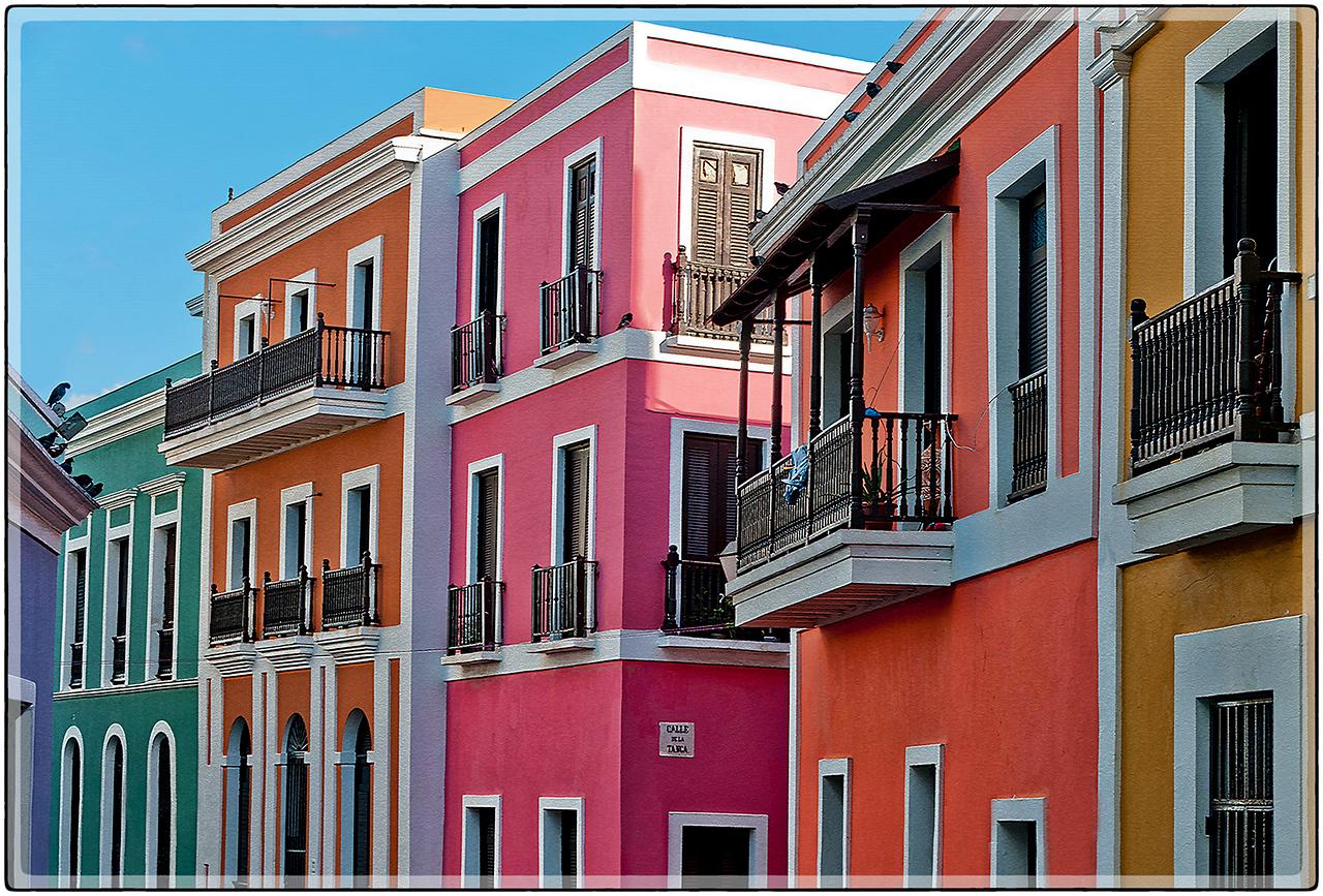 Los Colores del Viejo San Juan