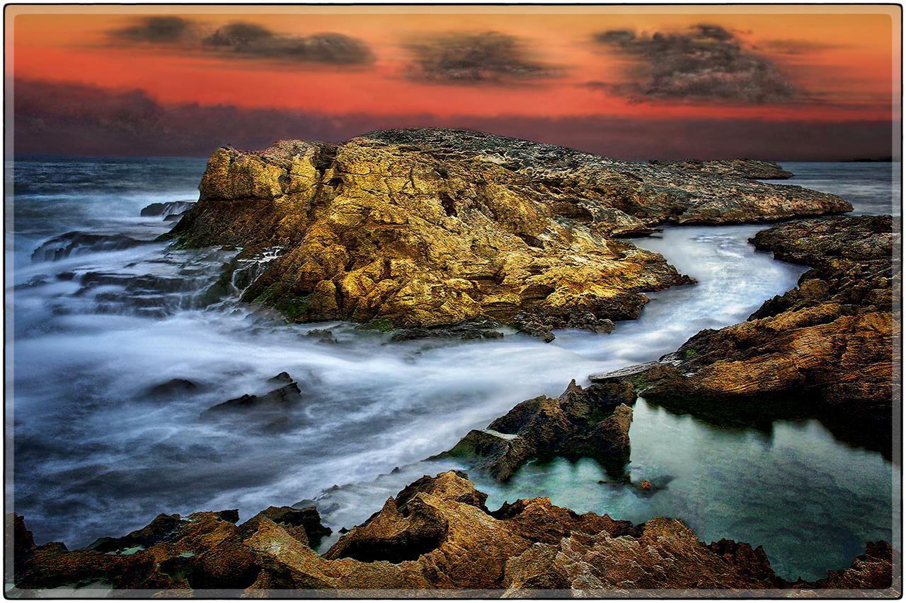 Ocaso, Playa de Vega Baja