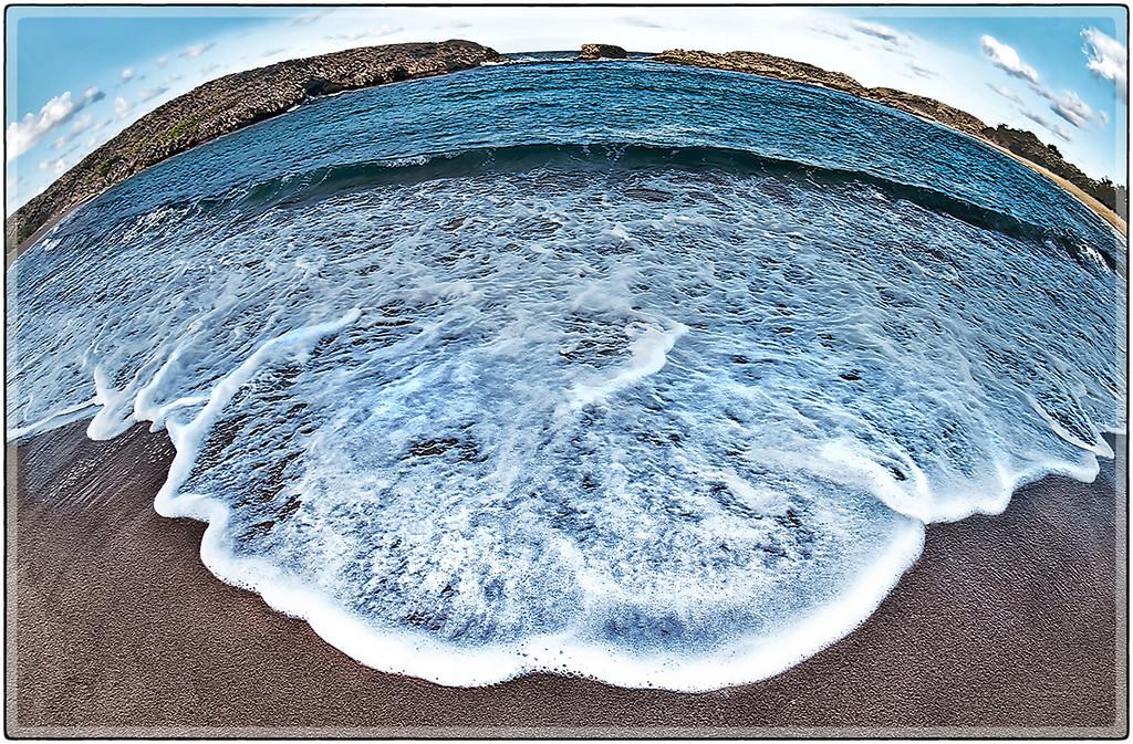 Mar Chiquita (fish eye view)