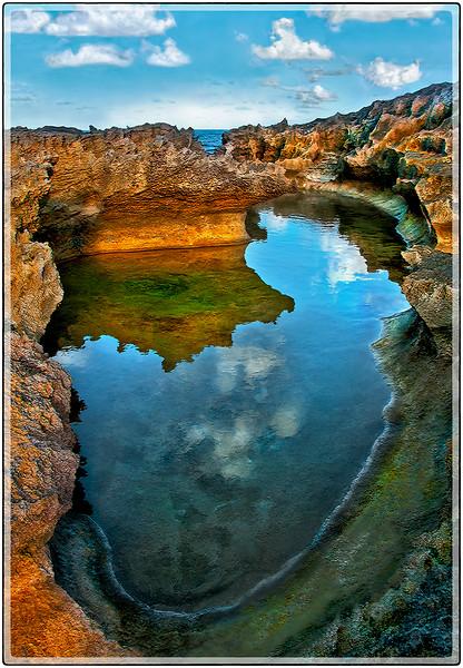 Cavidad en la Piedra, Mar Chiquita