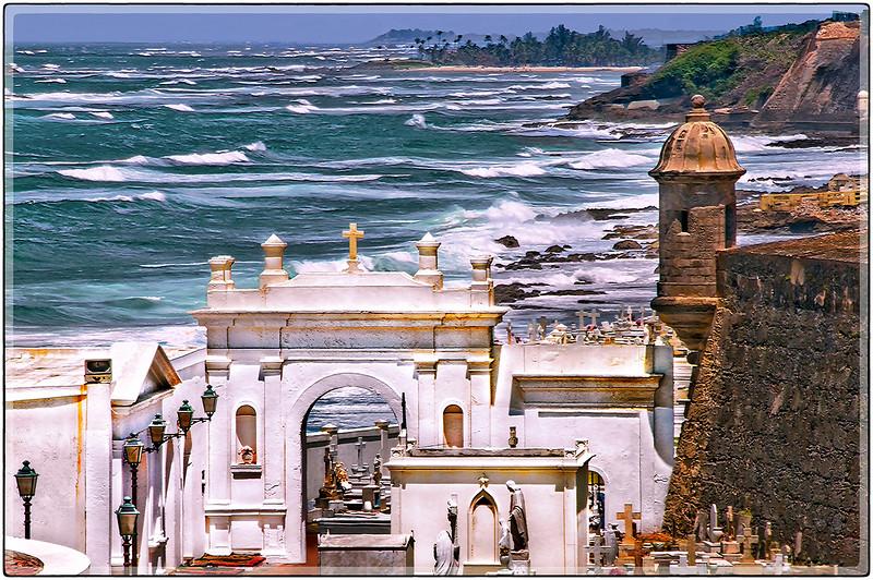 Vista Desde El Viejo Cementerio, San Juan