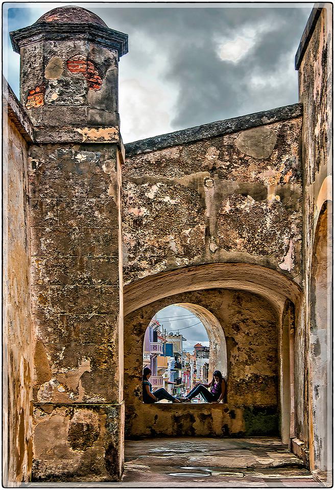 Ventana al Viejo San Juan
