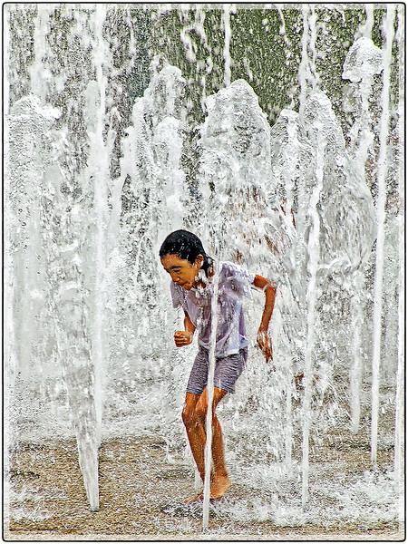 Jugando en El Agua, San Juan