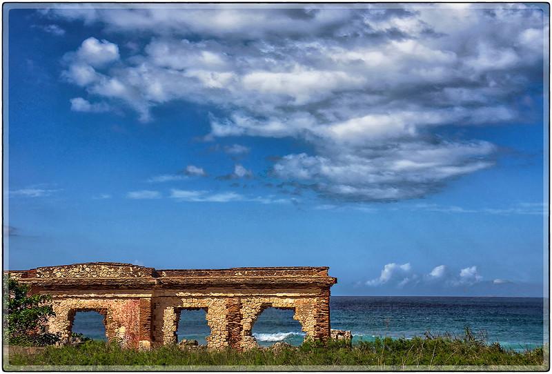 Ruinas en Punta Borinquen