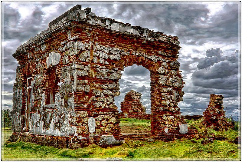 Ruinas en Isla de Cabras