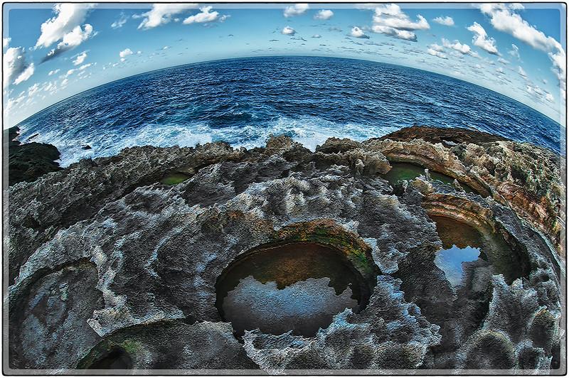 Arrecife, Mar Chiquita