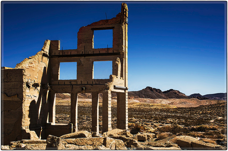 The Rhyolite Ruins