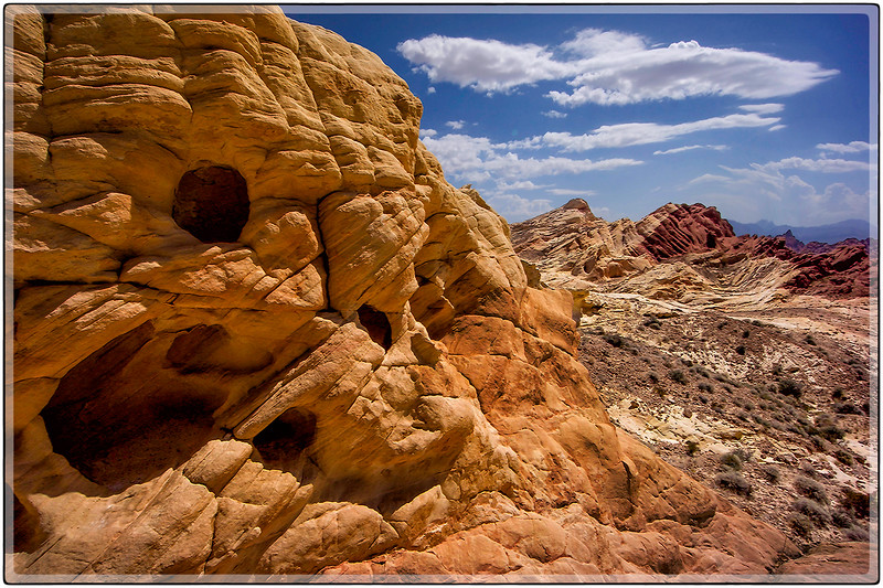 Desert Rocks, Valley of Fire, Nevada