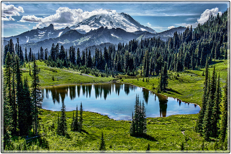 Mount Rainier Pond