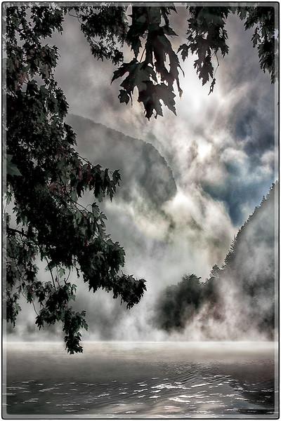 Morning Fog at the Water Gap