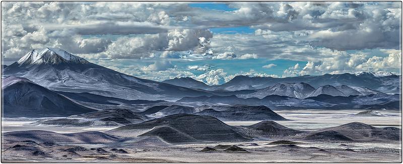 Volcan Oyague, Bolivia