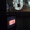 Livings - 2012 - metal cage - analogue tv - projection - video