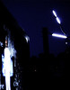 Dark silk - 2013 - tv monitor - animation - cathode tubes - microphone stands