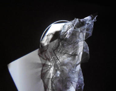 Node - 2018 - projection - 3d animation - found objects