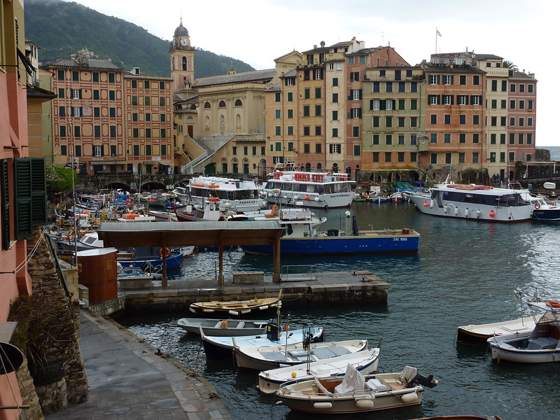 Camogli, the Mandraccio (dock area)<br /> <br /> Camogli, il Mandraccio