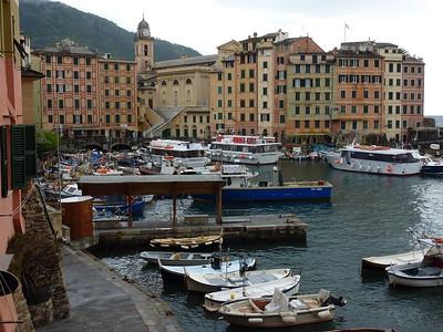 Camogli, the Mandraccio (dock area)  Camogli, il Mandraccio