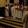 """Concerto del coro polifonico """"Cantori del Mattino"""" di Noceto - Parma nella chiesa dei cappuccini di Monterosso al Mare"""