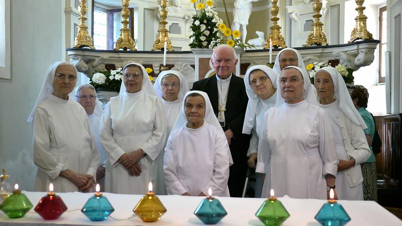 Cereta, 21 agosto 2015. Giubileo sacerdotale di alcune suore gianelline.