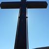 Gita al Monte Zatta, 11 settembre 2010. La croce in memoria del giubileo.