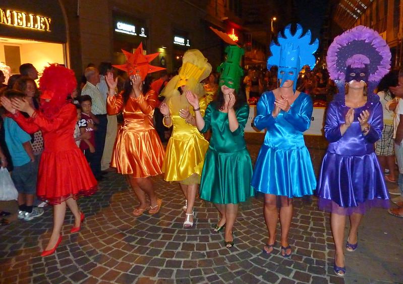 Borgata Canaletto, sfilata del Palio del Golfo 2010, La Spezia