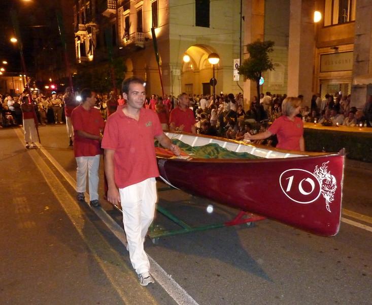 Sfilata delle borgate all'85° Palio del Golfo di La Spezia, Lerici