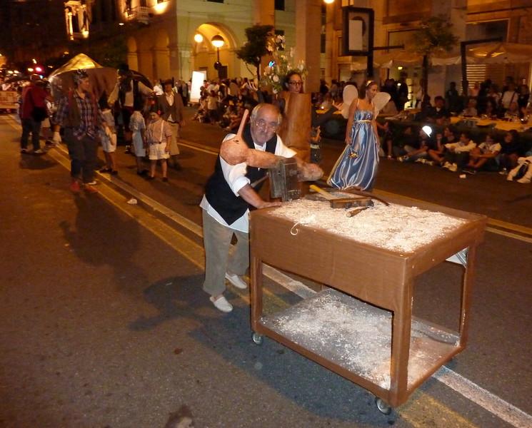 Sfilata delle borgate all'85° palio del Golfo 2010; Le Grazie, La Spezia
