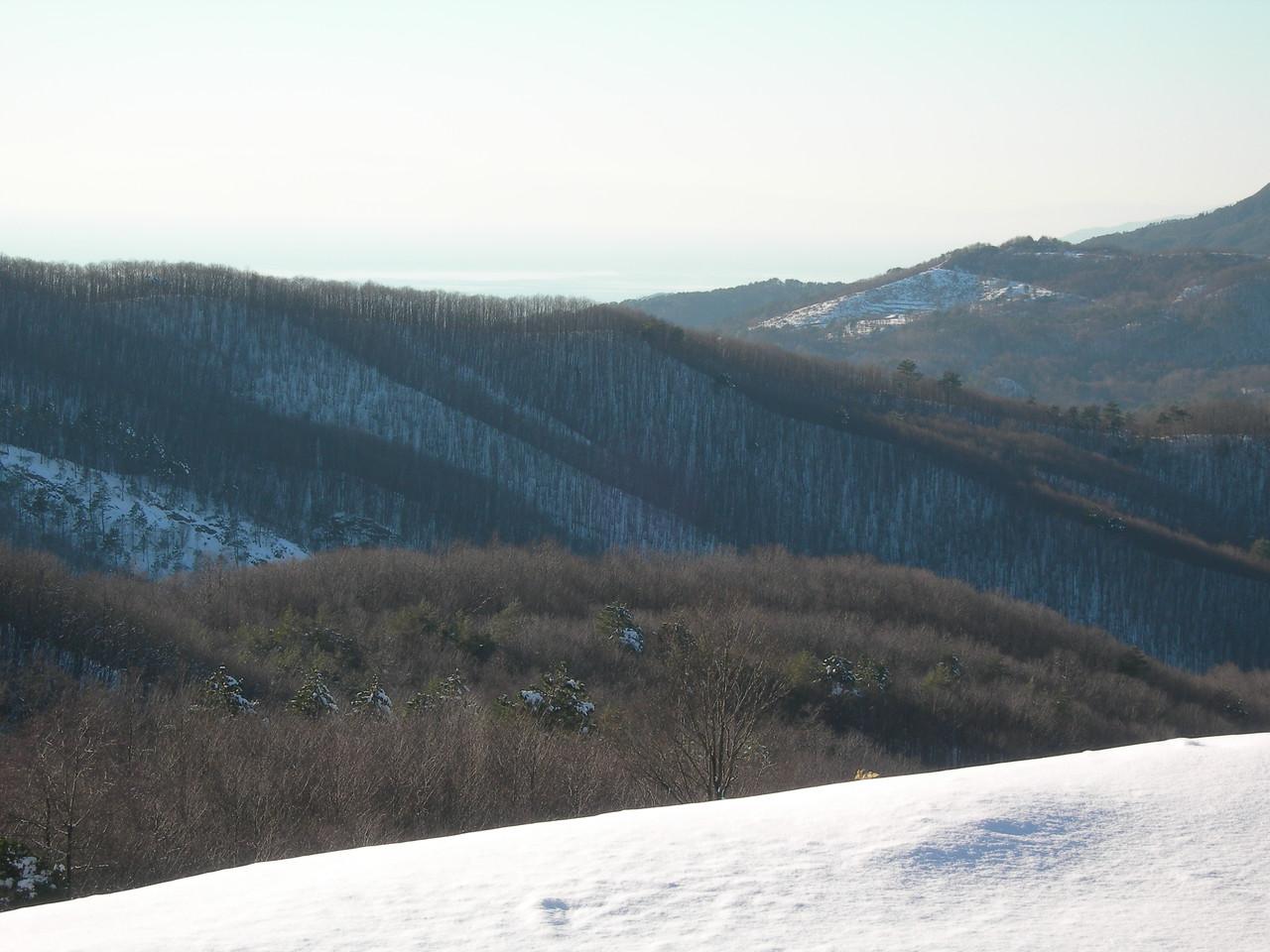Panorama from the Valico della Mola<br /> <br /> Panorama dal Valico della Mola