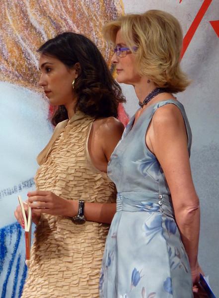 Caterina Balivo e Silvia Azzariti
