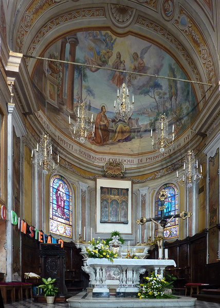 Casarza Ligure, 4 ottobre 2009: ingresso del nuovo parroco don Stefano Traini.