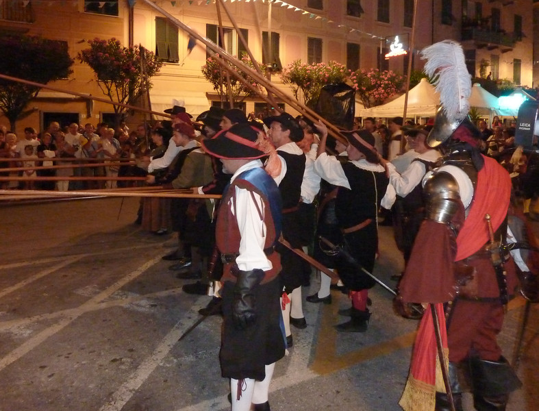 Stitched Panorama Battaglia di Lavagna, 31 Luglio 2010 - Battle of Lavagna - reenactment