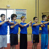 Trials for the Italian wushu, kung-fu and sanda team