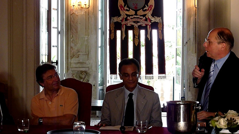 Conferenza di Magdi Cristiano Allam a Villa Durazzo, Santa Margherita Ligure, parte 9.<br /> <br /> Interventi di Luigi Ceffalo, Paolo Maria Solari, Roberto De Marchi.