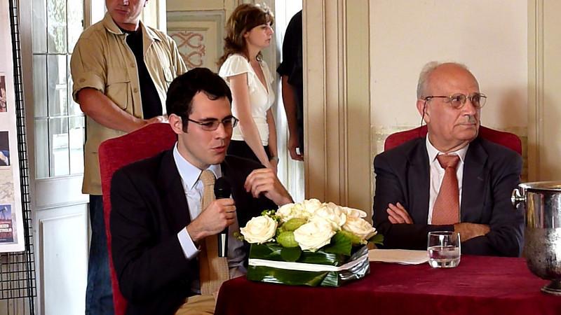 Conferenza di Magdi Cristiano Allam a Villa Durazzo, Santa Margherita Ligure, parte 2.<br /> <br /> Intervento di Luigi Ceffalo, Paolo Maria Solari e del sindaco Roberto De Marchi.